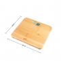 Pèse-personne électronique bambou