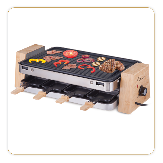 Raclette élégance 8